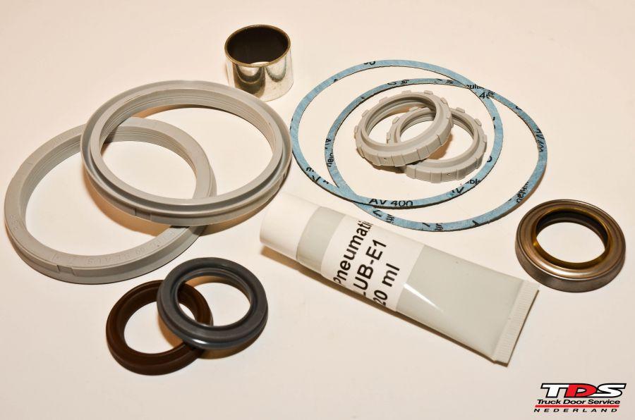 dichtungsatz 80mm zyl 8901389745 silber incl abstreiger tbv boschrexroth cilinder