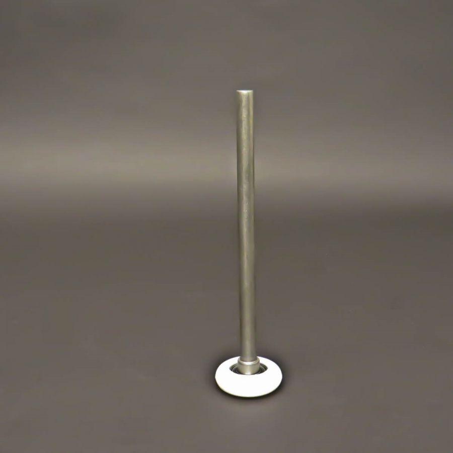 roulette 2nylonen acier inoxydable l axe 180mm125 kg